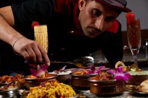 Chef Raj Mutti at curryosity