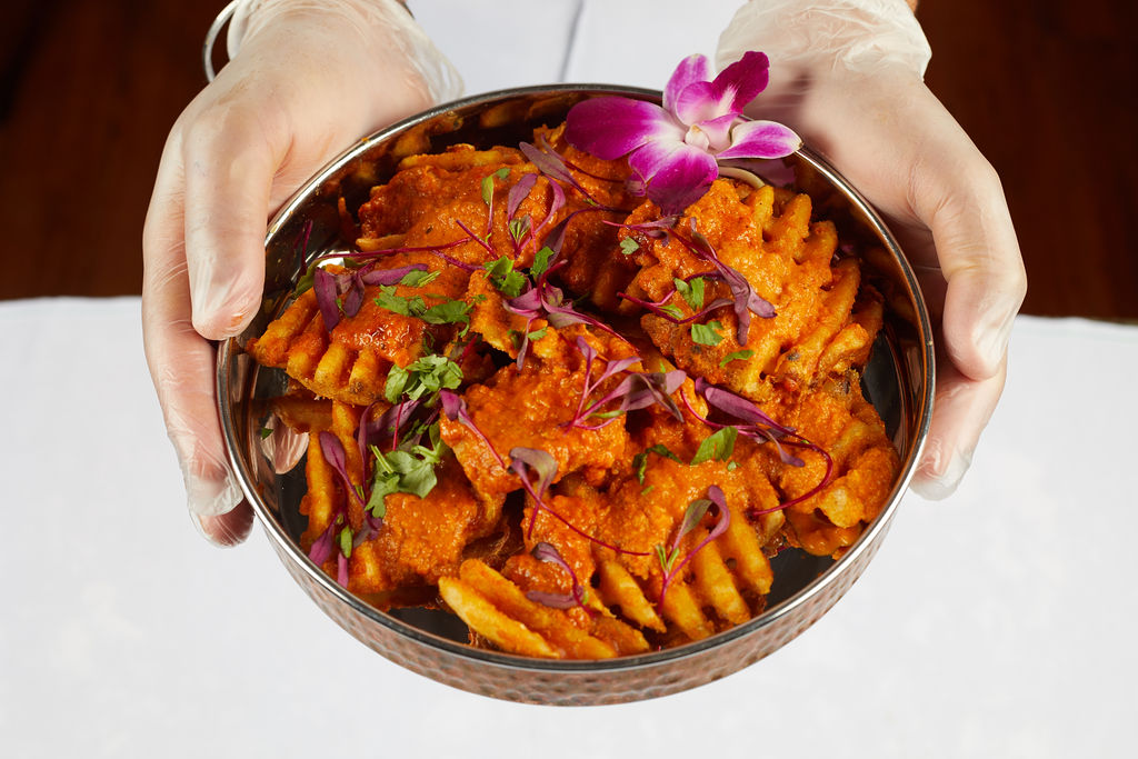 delicious curry fries